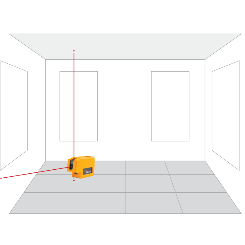 PLS 3 Red Point Laser Level | Pacific Laser Systems