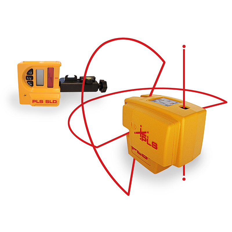 Pls 4 Red Cross Line Laser System Pacific Laser Systems