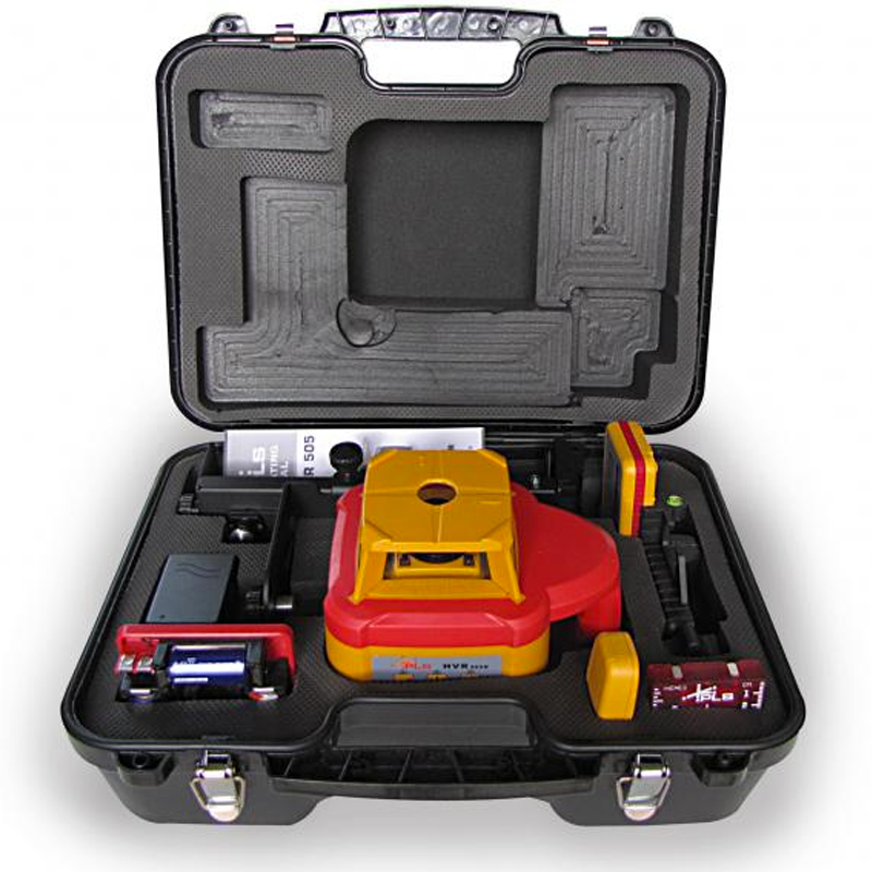 Pls Hvr 505 Red Rotary Laser System Pacific Laser Systems